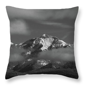 Winter's Window Throw Pillow