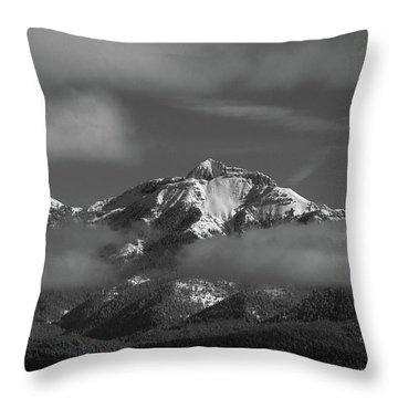 Winter's Window Throw Pillow