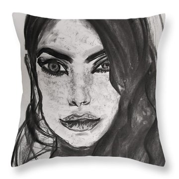 Wintertime Sadness Throw Pillow by Jarko Aka Lui Grande