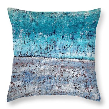 Wintry Mesa Throw Pillow