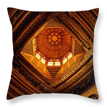 Al Ghuri Dome Throw Pillow