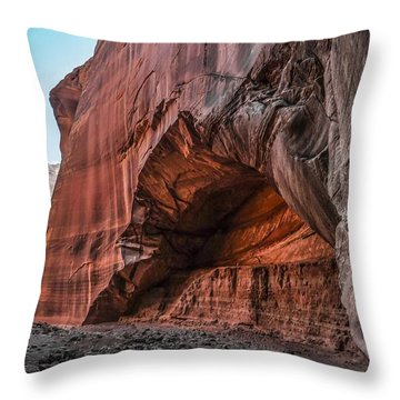 Wire Pass Archway Throw Pillow
