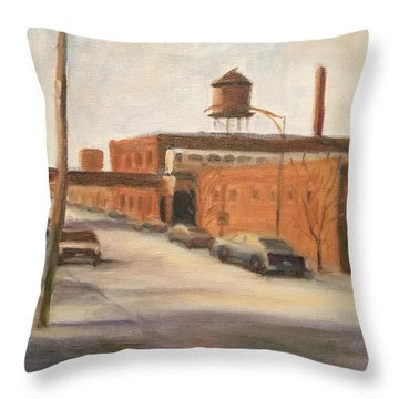 Wired And Ready Throw Pillow
