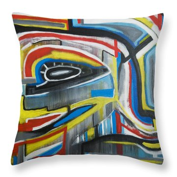 Wired Dreams  Throw Pillow