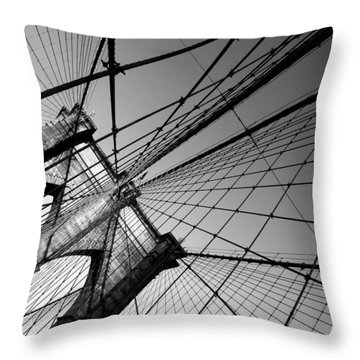 Throw Pillow featuring the photograph Wired by Keith McGill