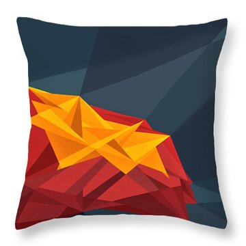 Wired Tree  Throw Pillow