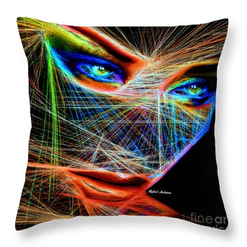 Wiretapped Period Throw Pillow