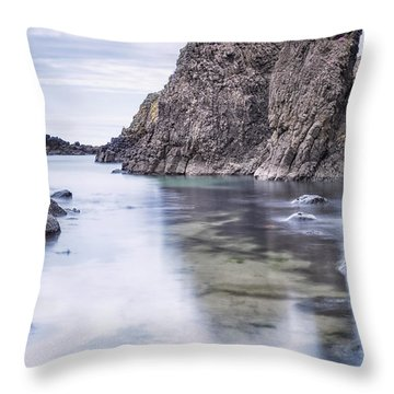 Wisdom Of Ancient Rocks Throw Pillow