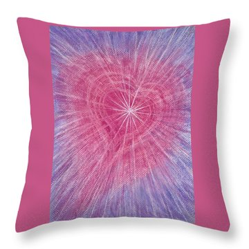 Wisdom Of The Heart Throw Pillow