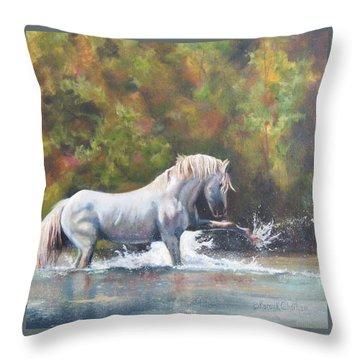 Wisdom Of The Wild Throw Pillow