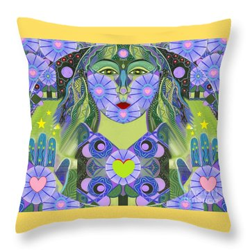 Wisdom Rising Throw Pillow