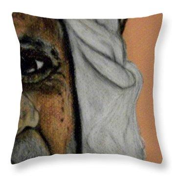 Wisdow Eye Throw Pillow