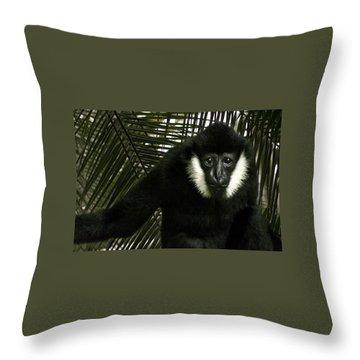 Wise Elder Throw Pillow