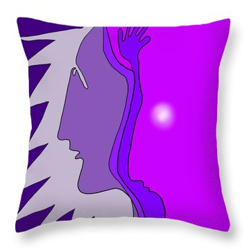 Wise Friend Throw Pillow