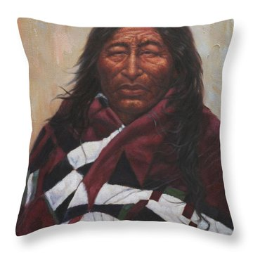 Wise One Throw Pillow