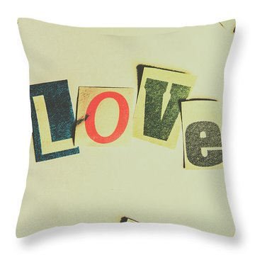 Wisest Word Of Them All Throw Pillow