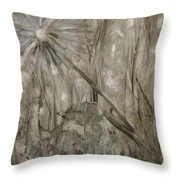 Wish From The Forrest Floor Throw Pillow