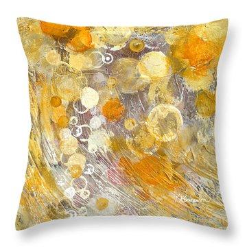 Wish Throw Pillow by Kristen Abrahamson