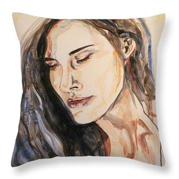 Wishing Well Throw Pillow