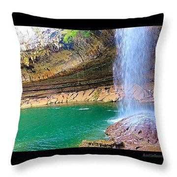Wishing You A #beautiful #zen Like Day! Throw Pillow by Austin Tuxedo Cat