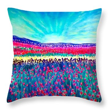 Wishing You The Sunshine Of Tomorrow Throw Pillow