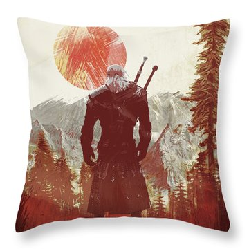 Witcher 3 Throw Pillow
