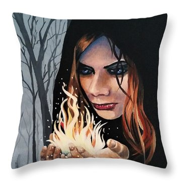 Witchery Throw Pillow