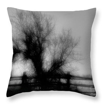 Witching Tree Throw Pillow by Mimulux patricia no No