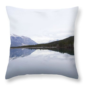 With A Clear Conscience Throw Pillow
