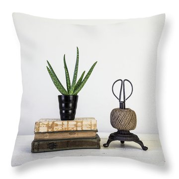 Throw Pillow featuring the photograph With Confidence by Kim Hojnacki