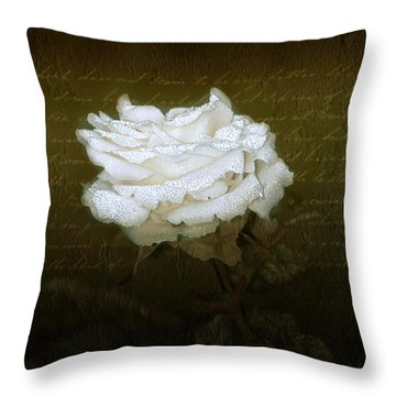 With Love Throw Pillow by Holly Kempe