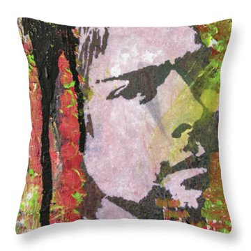 Something In The Way Throw Pillow