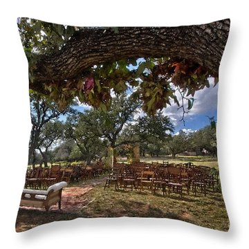 With This Ring...2 Throw Pillow