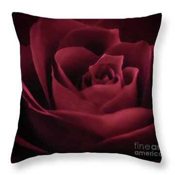 With This Rose Throw Pillow
