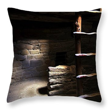 Within The Kiva Throw Pillow by Matt Helm