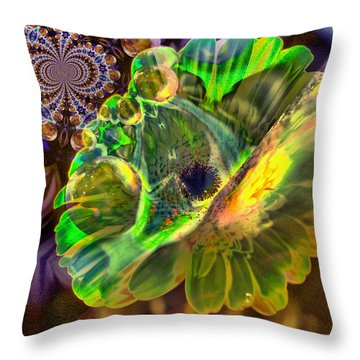 Throw Pillow featuring the photograph Within The Mind Meld by Jeff Swan