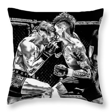 Without Connection You Have Nothing Throw Pillow