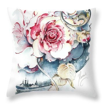 Without Fear Of The Storm Throw Pillow