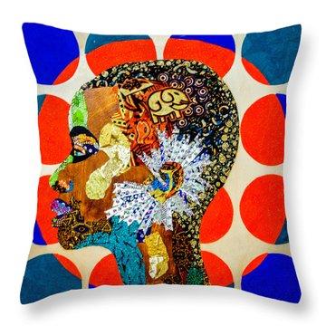 Without Question - Danai Gurira II Throw Pillow