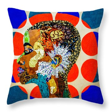 Without Question - Danai Gurira II Throw Pillow