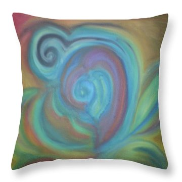 Without Titel Throw Pillow