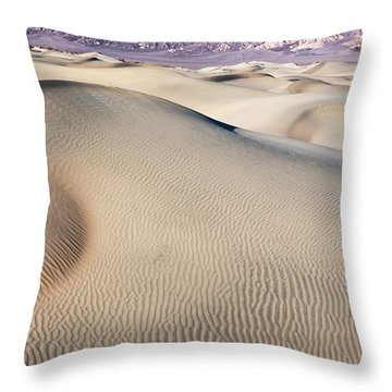 Throw Pillow featuring the photograph Without Water by Jon Glaser