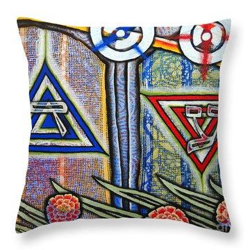 Witness Throw Pillow by Luke Galutia