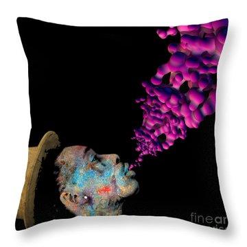 Wiz Khalifa Throw Pillow