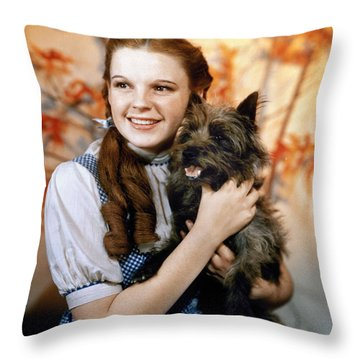 Wizard Of Oz, 1939 Throw Pillow by Granger