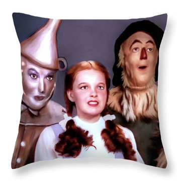 Wizard Of Oz Throw Pillow