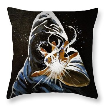 Wizardry Throw Pillow