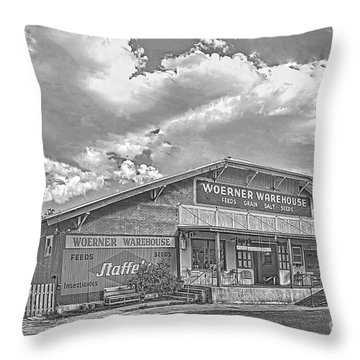 Woerner Warehouse Throw Pillow