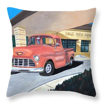 Wohstra-1 Throw Pillow