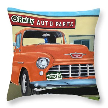 Wohstra-2 Throw Pillow